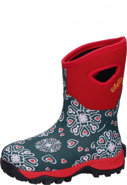93'Fella-Outdoorstiefel Lilly halbhoch rot