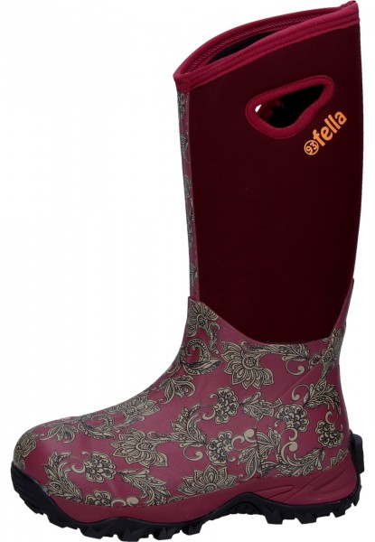 93' Fella-Outdoorstiefel Mable bordeaux hoch B-Ware