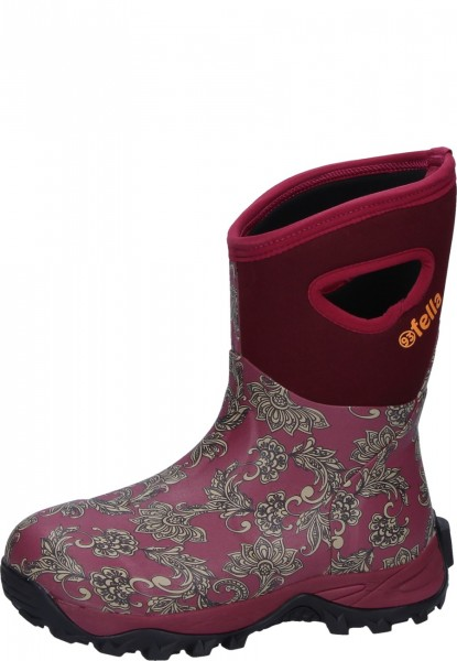 93'Fella-Outdoorstiefel Mable halbhoch bordeaux
