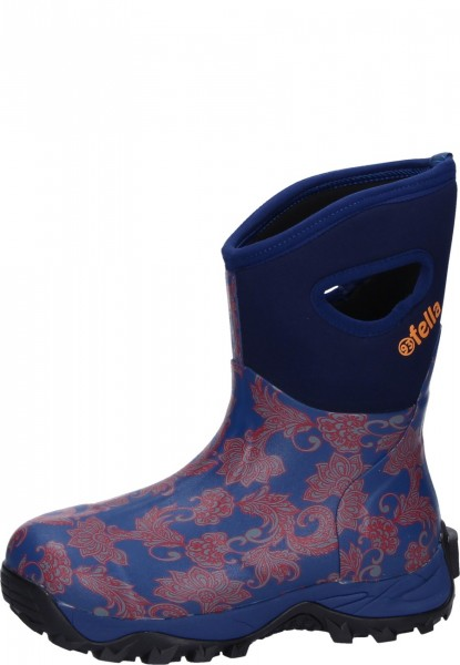 93'Fella-Outdoorstiefel Mable halbhoch blau